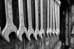 Wrenches Set Stock Photo