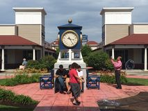 Wrentham Village Premium Outlets in Massachusetts Stock Image