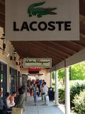 Wrentham Village Premium Outlets in Massachusetts Royalty Free Stock Photo