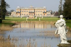 Wrest Park House Royalty Free Stock Photography