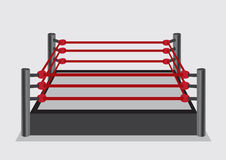 Wresting Ring Vector Illustration Royalty Free Stock Images