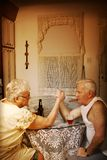 wrestle рукоятки стоковая фотография rf
