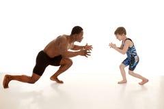 Wrestle boy Royalty Free Stock Photography