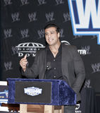 WrestleMania XXVII. NEW YORK, NY - MARCH 30: 2011 Royal Rumble Winner Alberto Del Rio attends the WrestleMania XXVII press conference at Hard Rock Cafe New York stock photos