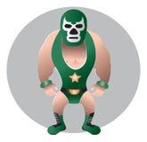 Wrestler Mexican Royalty Free Stock Photo
