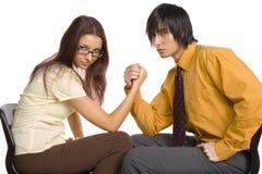 wrestling рукоятки стоковая фотография