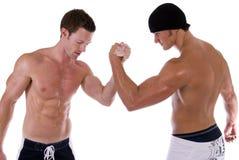 wrestling рукоятки стоковая фотография rf