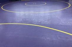 Wrestling циновка стоковая фотография rf