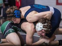 Wrestling для чемпионата стоковые фото