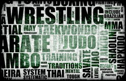 Wrestling Royalty Free Stock Images