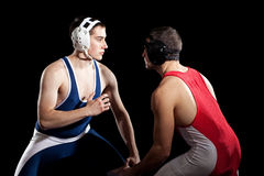 wrestling стоковая фотография rf