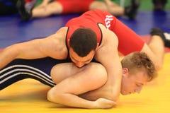 Wrestling - Bohdan Banyas Royalty Free Stock Images