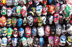 Wrestling luchador masks Stock Photos