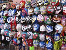 Wrestling mask Royalty Free Stock Images