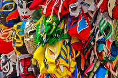 Wrestling masks Stock Photography