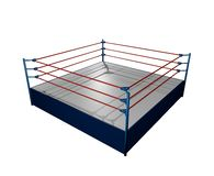 Wrestling ring Stock Images