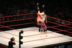 Wrestling stars Royalty Free Stock Image