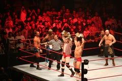 Wrestling stars Royalty Free Stock Photography