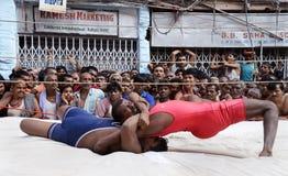 Wrestling technique Stock Image