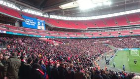 Wrexham at Wembley Stock Photos