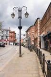 Wrexham Yorke ulica Zdjęcie Stock