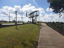 Wright bröder parkerar Montgomery Alabama arkivbild