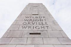 Wright braci Krajowi Pamiątkowi Zewnętrzni banki NC Obrazy Royalty Free
