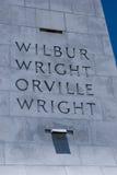 Wright braci Krajowy pomnik w kiciunia jastrzębiu Pólnocna Karolina Fotografia Stock