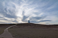 Wright brother monument Royalty Free Stock Photography