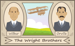 Wright Brothers Fotografia de Stock Royalty Free