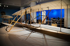 Wright Brothers' Exhibit Royalty Free Stock Photos