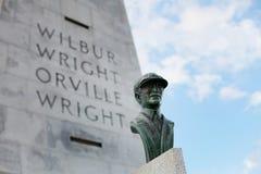 Wright Brothers Memorial 2 royaltyfria bilder