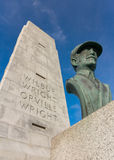 Wright brothers memorial Royalty Free Stock Image