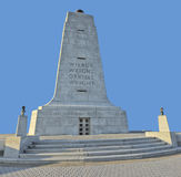 Wright Brothers Monument Front View arkivbild