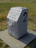 Wright Brothers National Memorial em montes do diabo da matança, 2008 imagens de stock