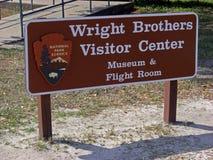 Wright Brothers National Memorial em montes do diabo da matança, 2008 fotos de stock