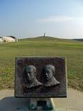Wright Brothers National Memorial en colinas del diablo de la matanza, 2008 Imágenes de archivo libres de regalías