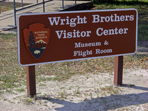 Wright Brothers National Memorial in Kill Devil Hills, 2008. Historic area of the Wright Brothers National Memorial located in Kill Devil Hills (North Carolina stock photos