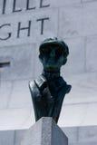 Wright Brothers National Memorial in Kitty Hawk North Carolina royalty-vrije stock foto's
