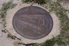 Wright Brothers National Memorial in Kitty Hawk North Carolina royalty-vrije stock afbeeldingen