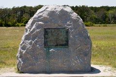 Wright Brothers National Memorial in Kitty Hawk North Carolina royalty-vrije stock foto