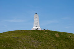 Wright Brothers National Memorial in Kitty Hawk North Carolina. View of Wright Brothers National Memorial in Kitty Hawk North Carolina Stock Photo
