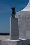 Wright Brothers National Memorial in Kitty Hawk North Carolina Royalty Free Stock Images