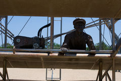 Wright Brothers National Memorial in Kitty Hawk North Carolina Royalty Free Stock Photos