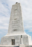 Wright Brothers National Memorial para conmemorar los primeros vuelos fotos de archivo libres de regalías
