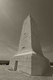 Wright Brothers National Memorial-Wide Angle Lizenzfreie Stockfotografie