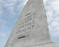 Wright-Bruder-nationales Denkmal Lizenzfreie Stockfotografie