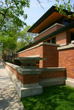 Wright's Robie House Royalty Free Stock Photos