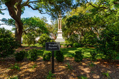 Wright Square Savannah Photographie stock libre de droits