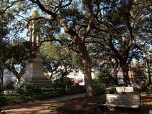 Wright Square Savannah Georgia Royalty Free Stock Photography